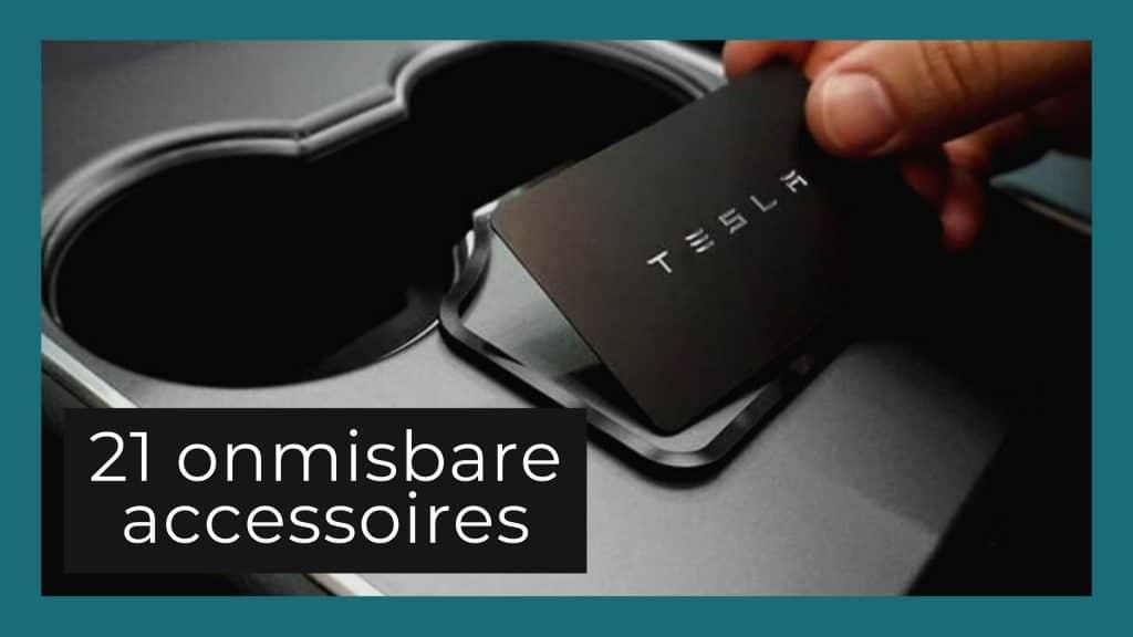 Beste Tesla accessoires