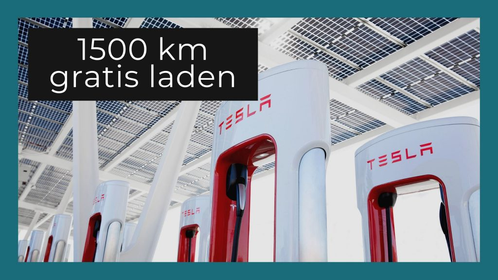 Tesla referral code: 1500 km gratis
